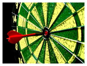 Precision bullseye