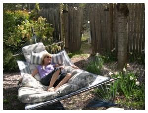 Relaxation 2013 - Chaya in Hammock