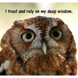 Wisdom - owl2